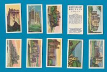Collectable TRADE/ cigarette cards set Castles of Britain by Horsley's store